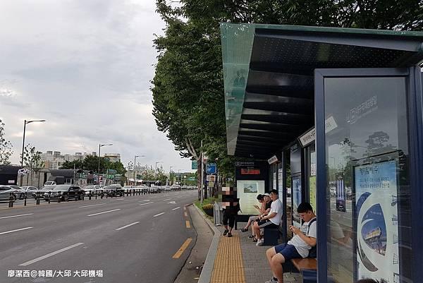 2017/07韓國/大邱 公車大邱機場站