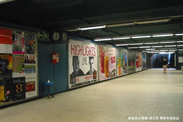 【德國/慕尼黑】電車Sendlinger Tor站