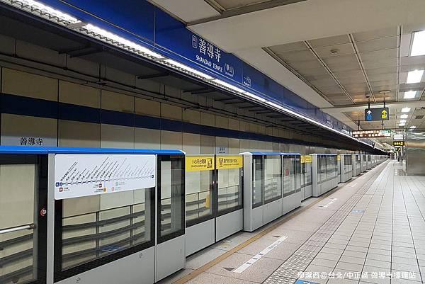 【台北/中正區】善導寺捷運站