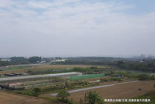 【高雄/岡山區】捷運車窗外風景