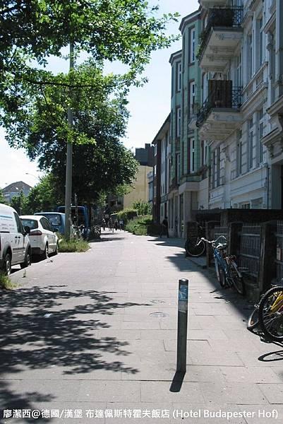 【德國/漢堡】布達佩斯特霍夫飯店 (Hotel Budapester Hof)