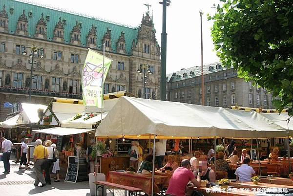 【德國/漢堡】漢堡市政廳廣場