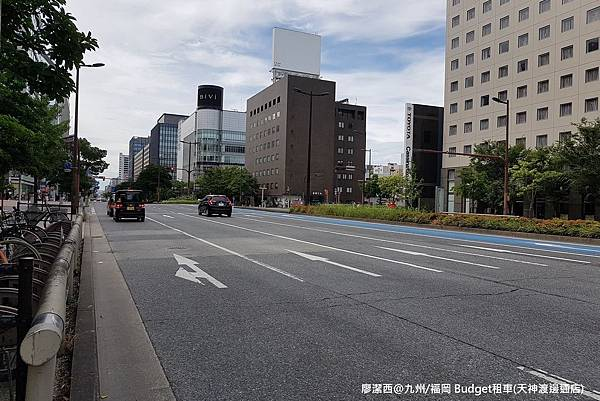 2018/07 日本/九州 Budget租車(天神渡邊通店)