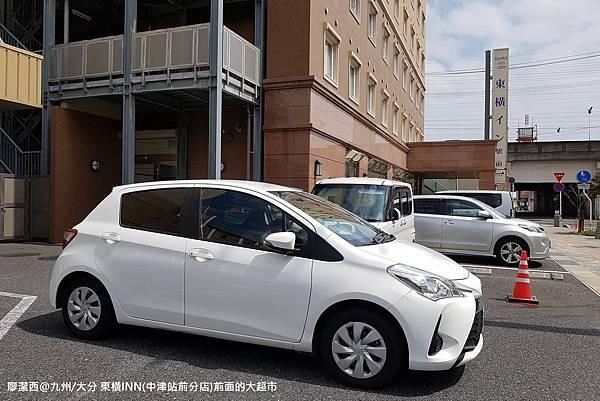 2018/07 九州/大分 東橫INN(中津站前分店)