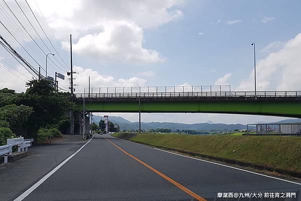 2018/07 九州/大分 前往青の洞門