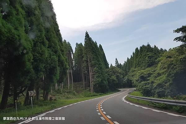 2018/07 九州/大分 前往湯布院らんぷの宿