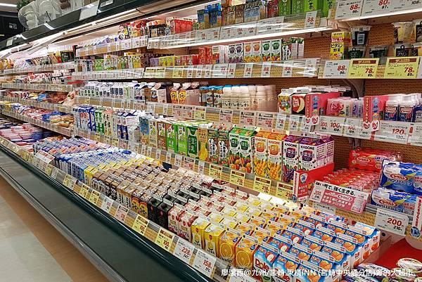 2018/07 九州/宮崎 東橫INN(宮崎中央通分店)旁的大超市
