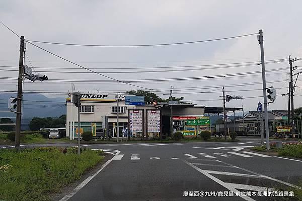 2018/07 九州/鹿兒島 前往熊本長洲的沿途景象
