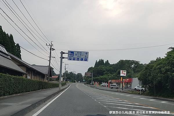 2018/07 九州/熊本 前往熊本長洲的沿途景象