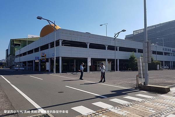 2018/07 九州/長崎 長崎港旁的縣營停車場