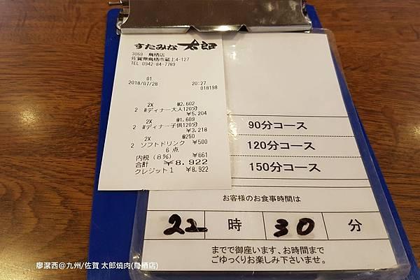 2018/07 九州/佐賀 すたみな太郎(鳥栖店)