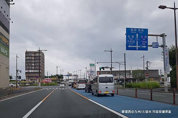 2018/07 九州/久留米 久留米市區街道景象