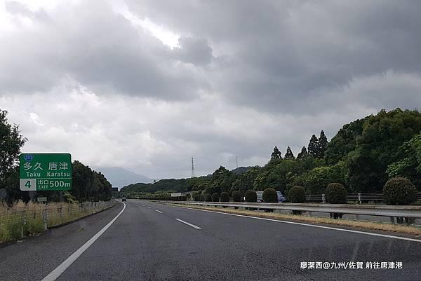 2018/07 九州/佐賀 前往唐津港沿途風景