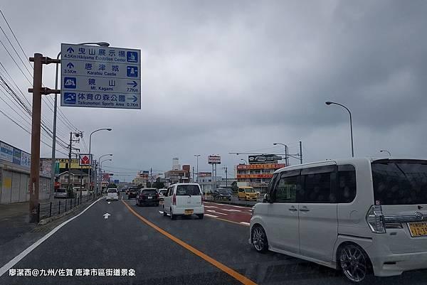 2018/07 九州/佐賀 唐津市區街道景象