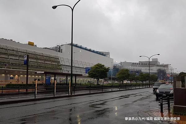 2018/07 九州/福岡 福岡空港外的街道