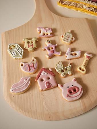 收涎餅乾12片迷你組