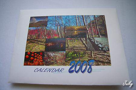 navyblue-2008月曆