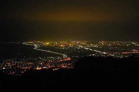 四格山夜景