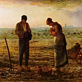 驚艷米勒-田園之美畫展-晚禱