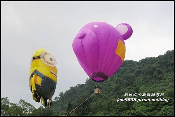 石門水庫熱氣球55