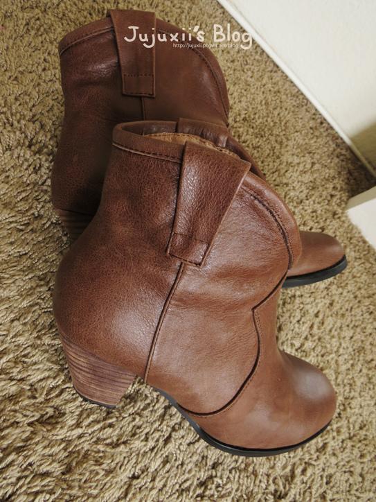 棕色短靴04