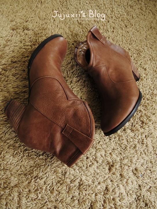 棕色短靴03