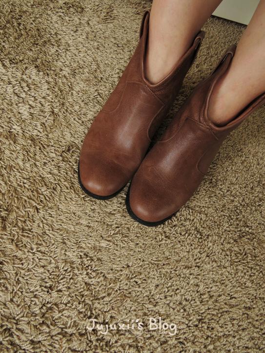 棕色短靴05