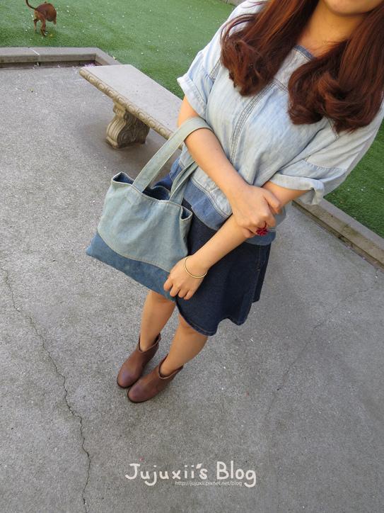 棕色短靴08