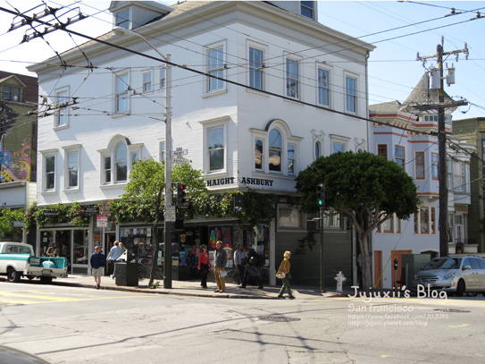 Haight and Ashbury Streets 27