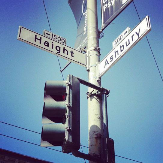 Haight and Ashbury Streets 33