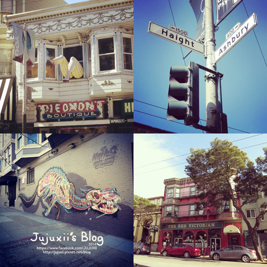 Haight and Ashbury Streets