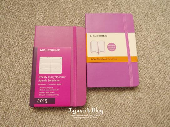 MOLESKINE 2015 Weekly Diary-Planner-Pink Pink01