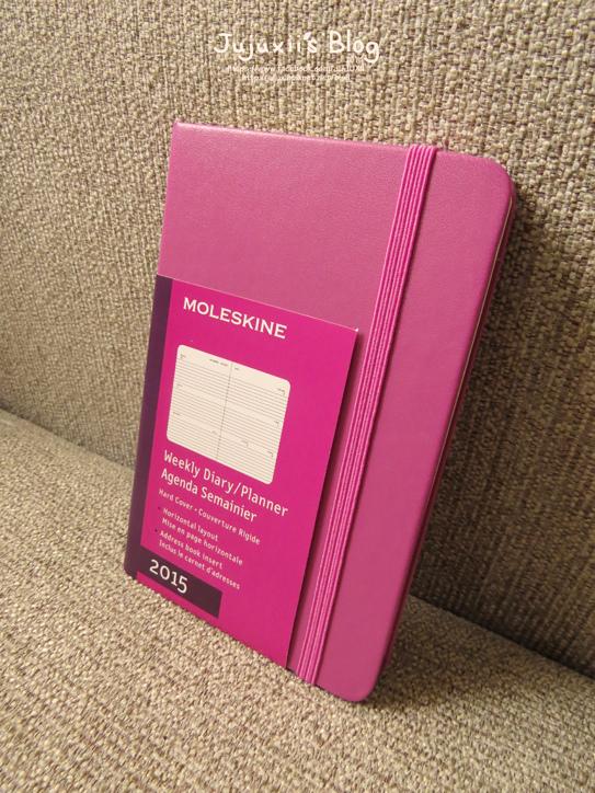 MOLESKINE 2015 Weekly Diary-Planner-Pink Pink02