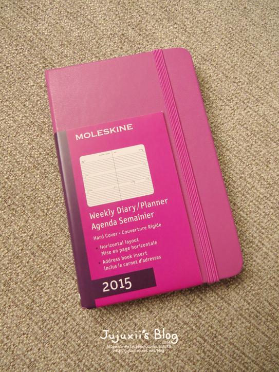 MOLESKINE 2015 Weekly Diary-Planner-Pink Pink05