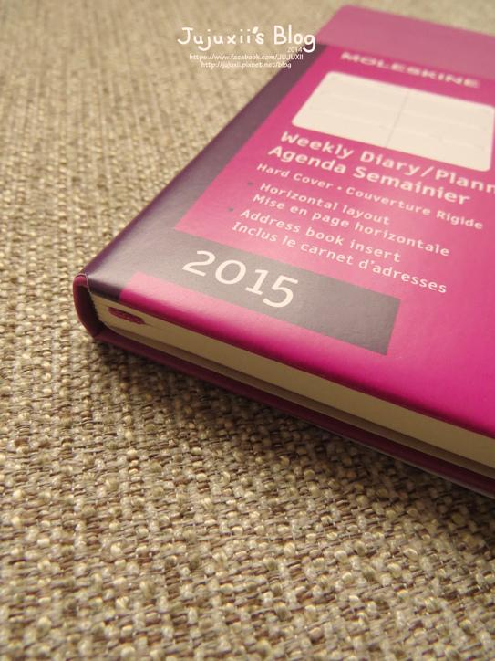 MOLESKINE 2015 Weekly Diary-Planner-Pink Pink06