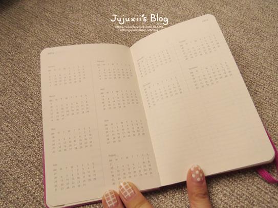 MOLESKINE 2015 Weekly Diary-Planner-Pink Pink24