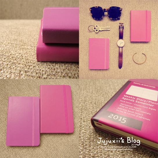 MOLESKINE 2015 Weekly Diary-Planner-Pink Pink32