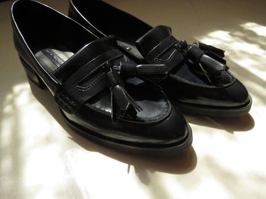 ZARA 秋冬樂福鞋10