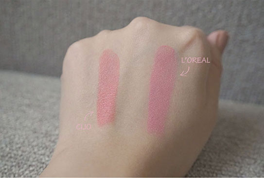 粉紅色開架唇膏20