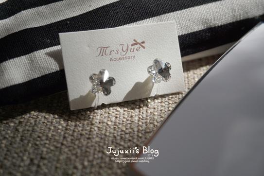 夾式耳環012