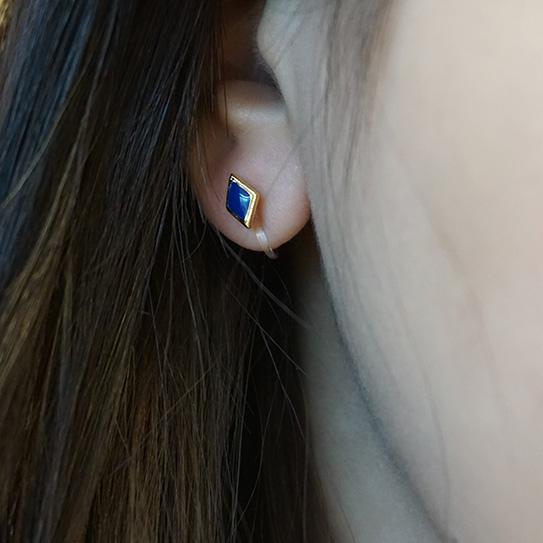 夾式耳環026