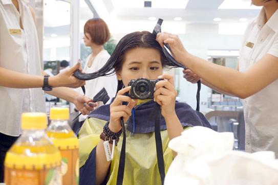 中山燙髮推薦PLUUS33