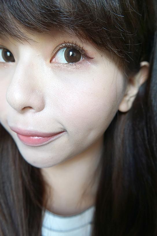 咖啡色睫毛膏+眼線迷濛眼妝 12.JPG