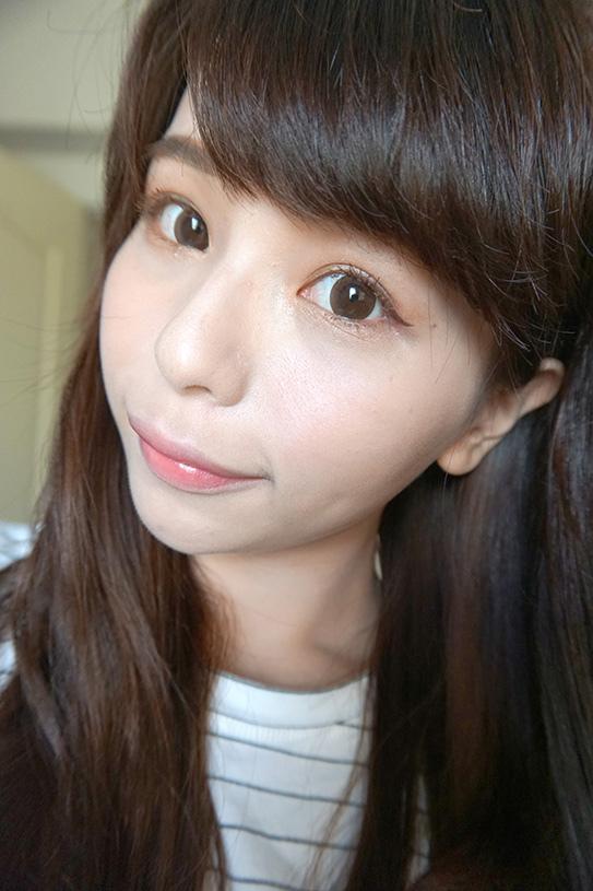 咖啡色睫毛膏+眼線迷濛眼妝 14.JPG