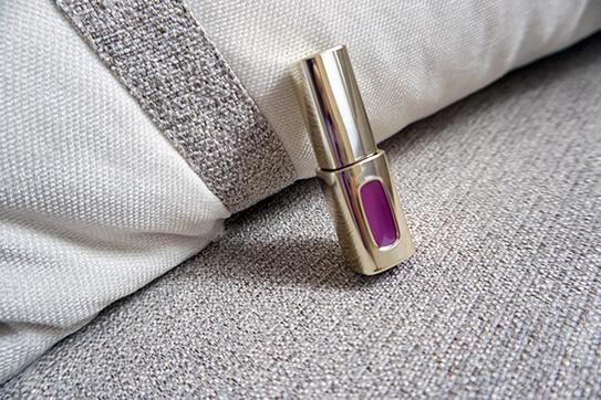 L'Oréal巴黎萊雅紫色唇釉#503 01.JPG