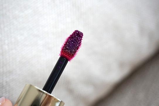 L'Oréal巴黎萊雅紫色唇釉#503 07.JPG