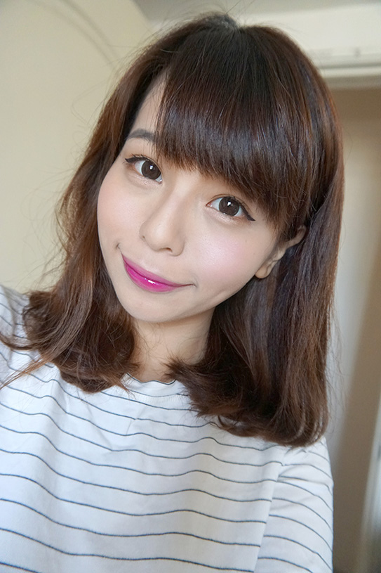 L'Oréal巴黎萊雅紫色唇釉#503 16.JPG