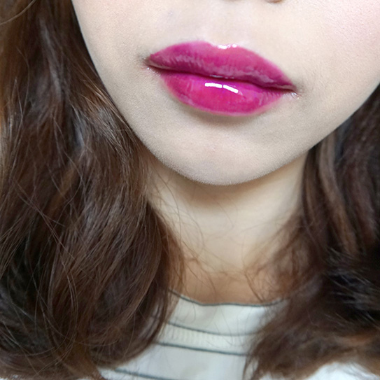 L'Oréal巴黎萊雅紫色唇釉#503 17.JPG