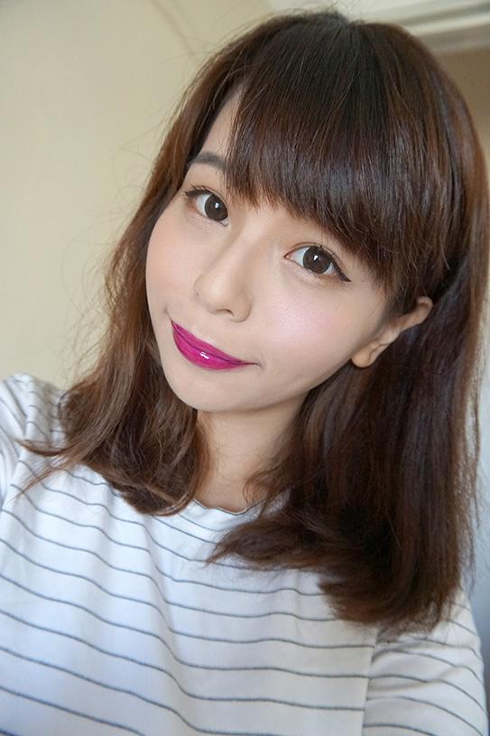 L'Oréal巴黎萊雅紫色唇釉#503 19.JPG