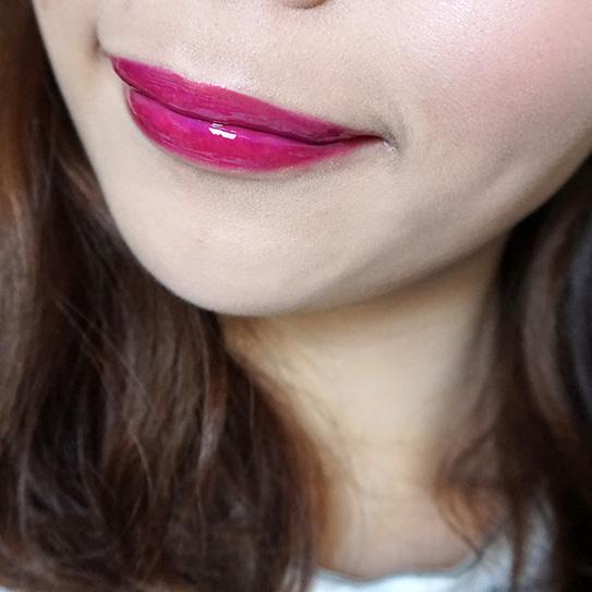 L'Oréal巴黎萊雅紫色唇釉#503 18.JPG